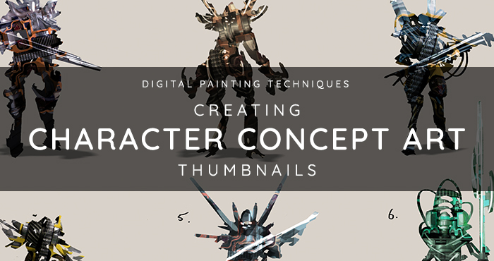 Character Design Thumbnails : Evenant home