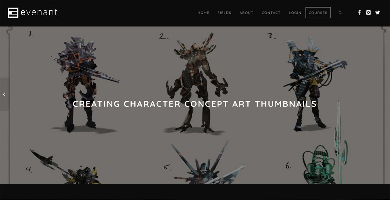 Character Design Thumbnails : Creating character concept art thumbnails evenant design