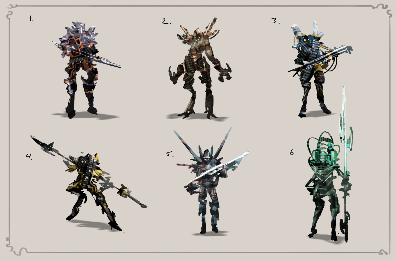Creating Character Concept Art Thumbnails Evenant Design