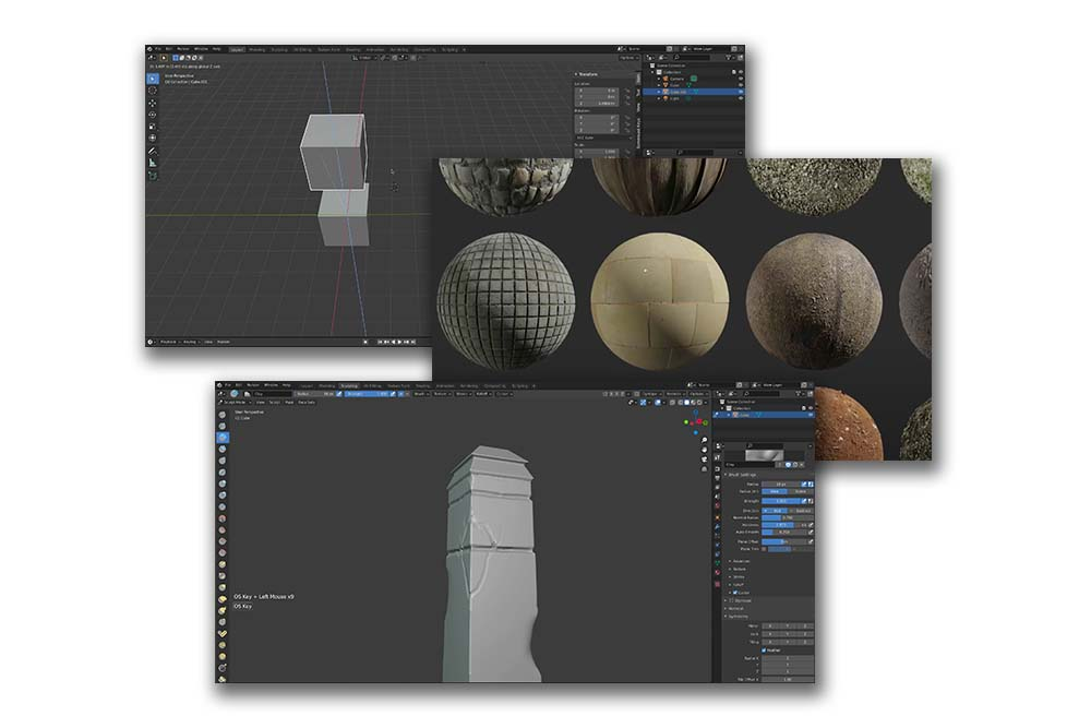 3D for Artists by Walid Feghali. Module 1: Intro to 3D and Blender