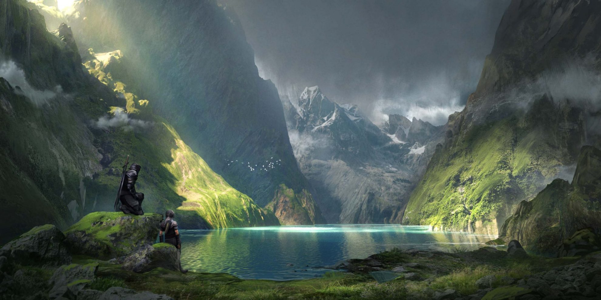 Creating Shining Fjords with Walid Feghalis 3D for Artists Course